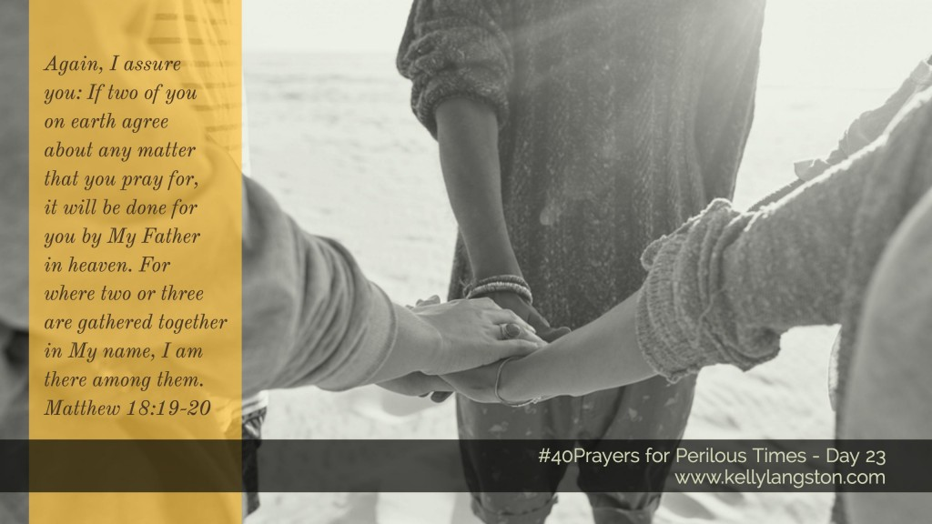 40 Prayers for Perilous Times Day 23
