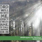 40 Prayers for Perilous Times: Day 27