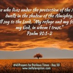 40 Prayers for Perilous Times: Day 30