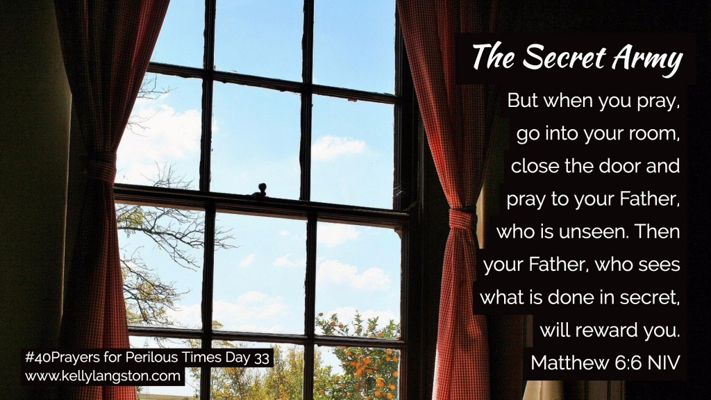 40 Prayers for Perilous Times Day 33